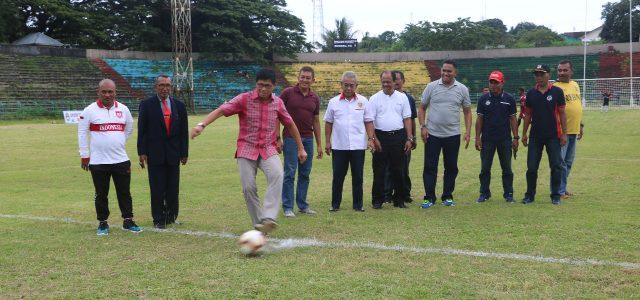 Kapolda Maluku Buka Tournamen Sepakbola Millennial, Sebut Nama Persipura