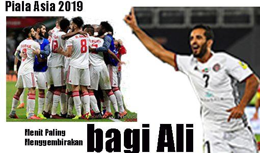 Piala Asia, Australia Blunder, Ali Cetak Gol Semata Wayang