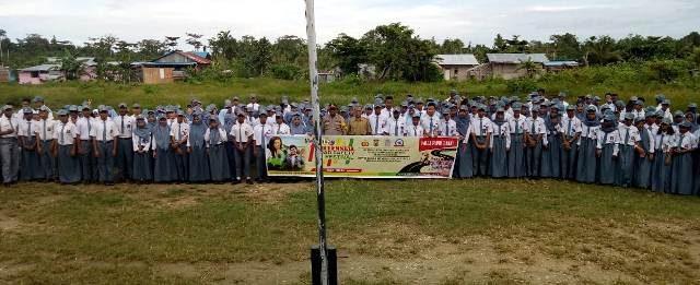 Polres Kaimana Terus Kampanyekan MRS Festival ke Sekolah-Sekolah