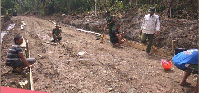 Kodim Manokwari Laksanakan Pra TMMD Ke-104 di Kampung Ukopti