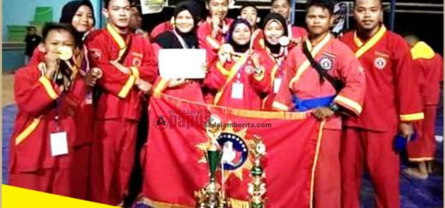 Sabet 11 Medali Emas, Tapak Suci PM Sorong Juara Umum, Ikut Seleksi Pra PON XX Thn 2020 Papua