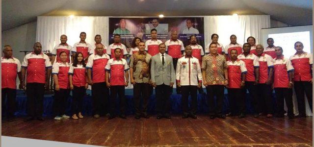 Johni Asadoma Minta Pertina Papua Barat Tingkatkan Prestasi di Pra PON dan PON XX