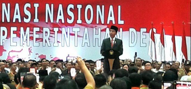 Presiden Ingatkan Masyarakat Jaga Persatuan di Tengah Pemilu 2019