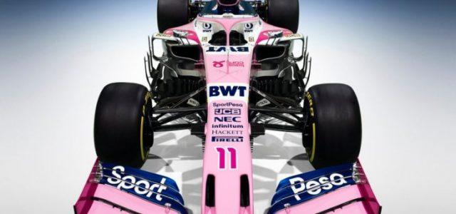Racing Point Ungkap Mobil Balap Baru untuk F1 2019