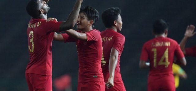 Dua Gol Pemain Asal Sarmi Papua, Tentukan Kemenangan Timnas U-22
