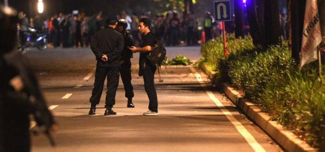 Tim K-9 Polda Metro Jaya Dikerahkan di Lokasi Ledakan