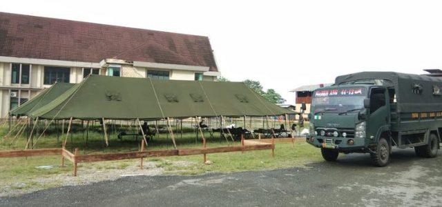 BPBD Papua Buka Dapur Umum di Sentani