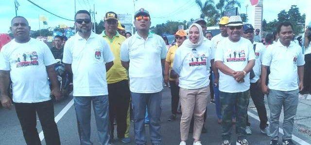 Fun Walk KPU Tual Maluku Tenggara