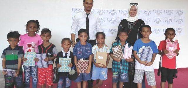 Bank Indonesia Papua Barat Beri Bingkisan Paskah pada Anak-anak