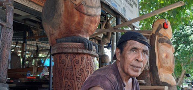 Feature (2) Seniman Papua Barat Elly Krey : Jangan Sampai Budaya Kita Hilang