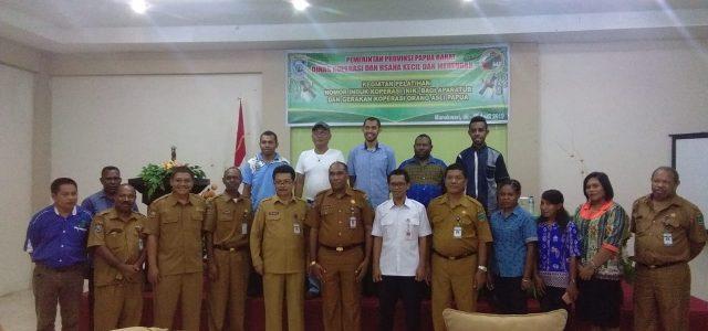 Nomor Induk Koperasi Kunci Bagi Gerakan Koperasi  Orang Asli Papua
