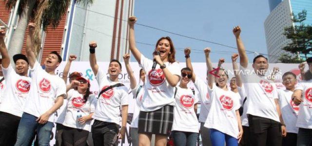 Relawan Ayo Memilih Sosialisasikan Anti-Apatisme Politik