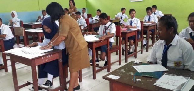SMP Negeri Wasior Belum UNBK 2019