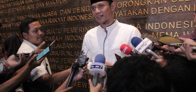 AHY Rumuskan Perdamaian Jelang 22 Mei Bersama Delapan Kepala Daerah