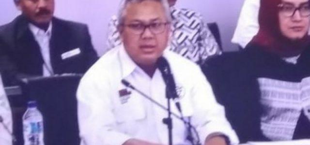 Hasil Final Pilpres 2019: Jokowi 55,50 Persen, Prabowo 44,50 Persen