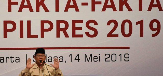 Gerindra: Tak Ada Fakta Kaitkan Prabowo Dengan Tuduhan Makar