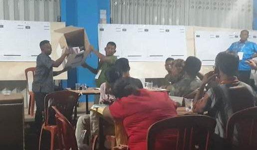 Data TPS Masuk ke Situng KPU Sudah 67,65 Persen