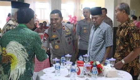 Sambut HUT Bhayangkara Ke-73, Kapolda Papua Barat Minta Doa Restu Dari Purnawirawan