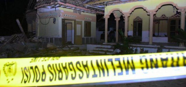 Polisi Tahan Seorang Pelaku Terkait Ledakan Mushala di Blitar
