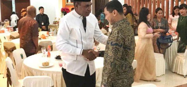 Kapolda dan PJU Polda Papua Barat   Silaturahmi ke Wagub Papua Barat