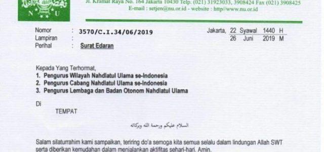 NU: Bersatu Usai Putusan MK