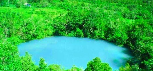 Ada Telaga Biru di Wamena