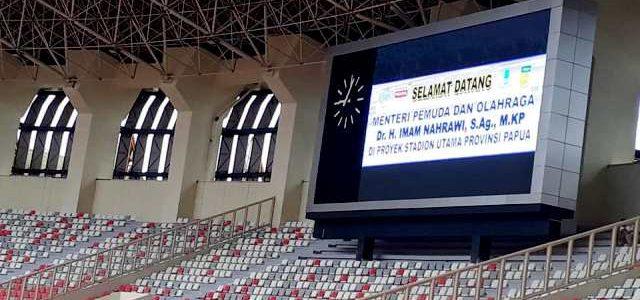 Stadion Papua Bangkit Gunakan Lampu Philips Generasi Kedua
