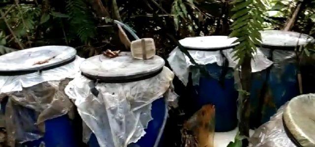 Polres Sorong Temukan Tempat Pembuat Miras
