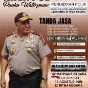 Irjen Pol Drs Paulus Waterpauw Layak Bintang Tiga, Jabat Kabareskrim, Kabintelkam atau Wakapolri?