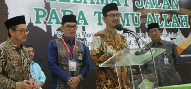 JCH Papua Barat-Sulsel Bertolak ke Mekkah