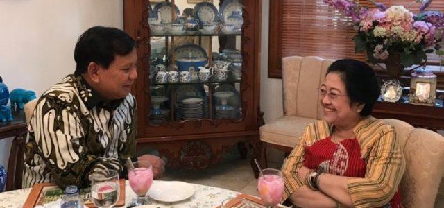 Senyum Megawati dan Prabowo Warnai Pertemuan Empat Mata