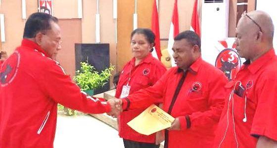 Demas P Mandacan Bertrima Kasih Dipercayakan Sebagai Ketua DPD PDI-P Papua Barat