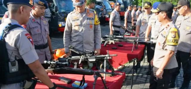 Dari Ambon Kapolda Maluku Doakan Personel Brimob BKO Polda Papua Barat