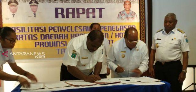 Papua Barat Percepat Penyelesaian Batas Wilayah Kabupaten-Kota