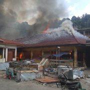 Pasar  Thumburny Fakfak Terbakar