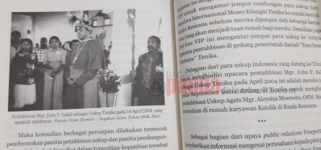 """In Memoriam:  Uskup Timika Mgr John Philip Saklil.  Pemilik Motto """"Siapkan Jalan Tuhan"""",  Dipanggil Tuhan"""