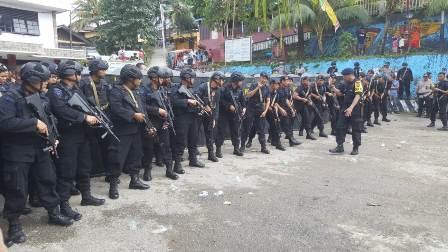 Usai Amankan Fakfak, Anggota Brimob Polda Sultra dan Polda Jambi Back to Basic