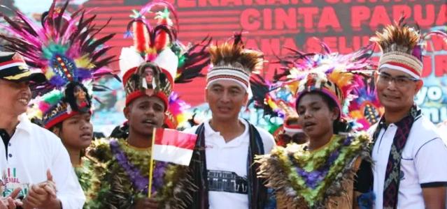 Masyarakat Jatim Deklarasi Cinta Papua