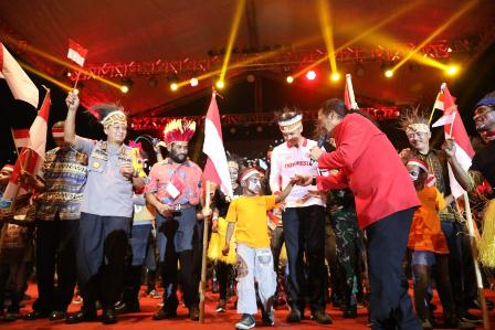 """"""" We Love Papua """", Papua adalah Indonesia"""