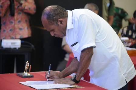 DPRP Sosialisasi Deklarasi Damai ke Masyarakat