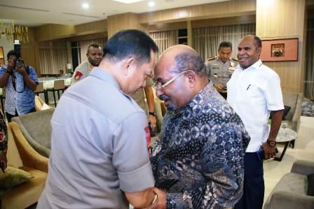 Kapolri Sampaikan Terima Kasih Situasi Papua Barat dan Papua Relatif Baik