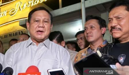 Bertemu Hendropriyono, Prabowo Bincangkan Pemulihan Papua