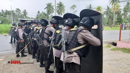 Brimob Nusantara BKO Polda Papua Barat