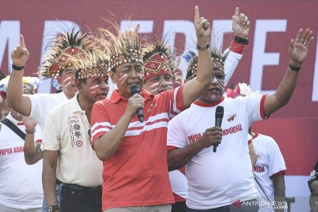 Wiranto Sebut Tokoh Separatis  Benny Wenda Dibalik Peristiwa di Papua