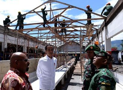 Presiden Jokowi Harap Wamena Kembali Normal
