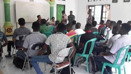 Koramil Wasior Siapkan Calon Prajurit TNI-AD Berkualitas