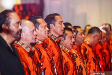 Pemuda Pancasila: Jangan Coba-Coba Ganggu Presiden Jokowi