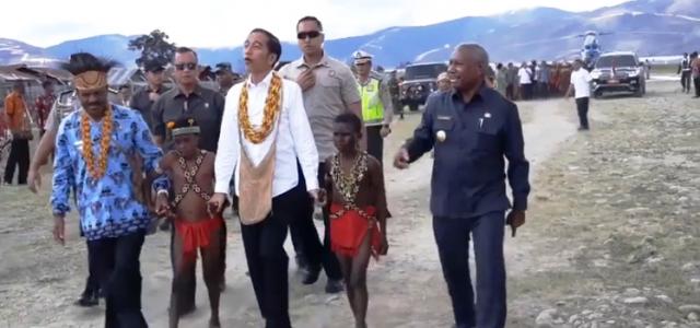 Presiden Jokowi: Ini Pertama Saya Ke Pegunungan Arfak, Saya Kaget Sangat Cantik Danaunya