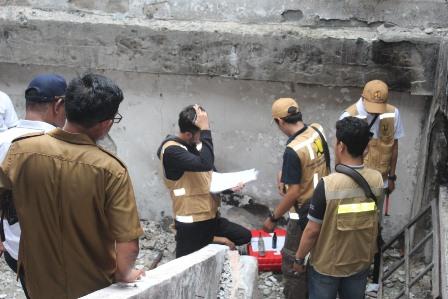 Bangun Pasar Thumburuny Tim Kementrian PUPR Survey Bangunan Pasar