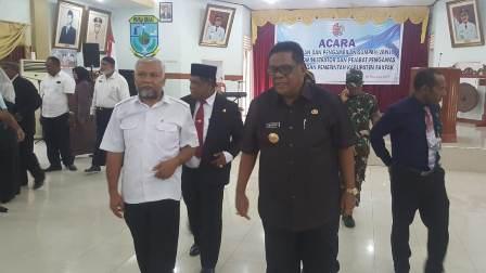 Subhan Rumoning Geser Maulana Patiran dari Jabatan Direktur RSUD Fakfak